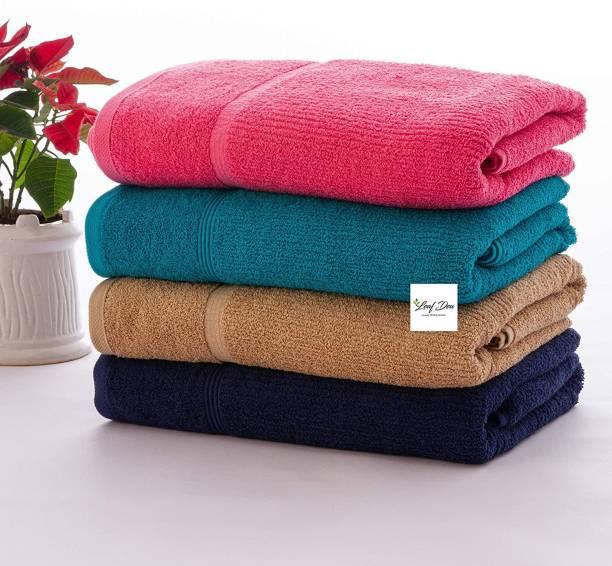leaf dew Cotton 450 GSM Bath Towel Set
