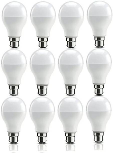 SHIVANGI LIGHTS 9 W Standard B22 LED Bulb