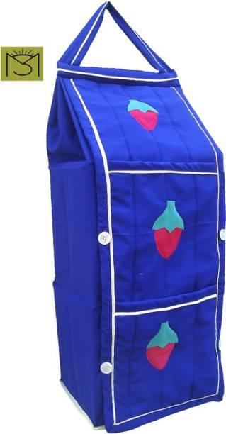 SRIM SMC0075 Polyester Collapsible Wardrobe