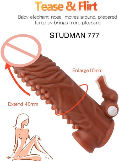 PROEXTENDER 777 EXTENDER VIBRATING SLEEVE CONDOM Condom