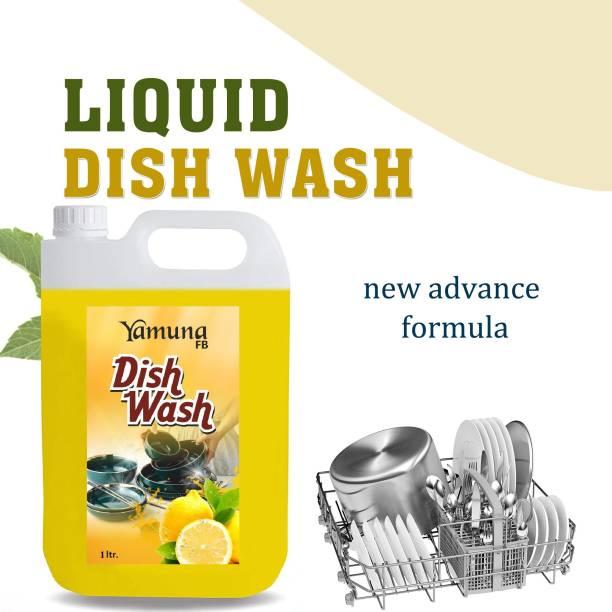 yamuna fb 1 LTR Non Acidic dish wash Liquid Detergent (1 l) Dish Cleaning Gel