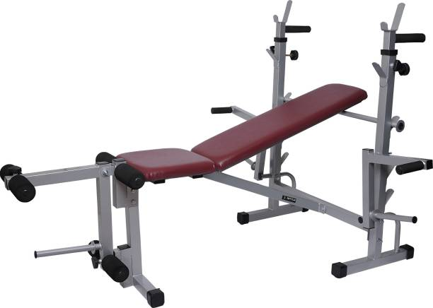 FETTLE FT-092 Heavy Duty Multy Home Gym Bench Suitable For 8 exercises Multipurpose Fitness Bench