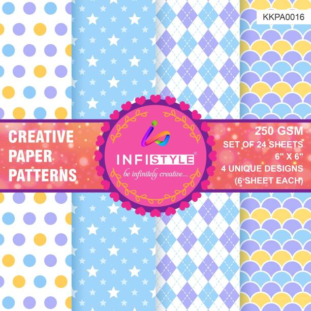INFISTYLE INFTYLE_KKPA016_PAPERPATTERN Heart CARDSTOCK Gift Wrapper