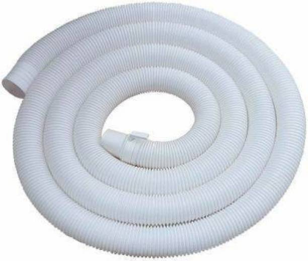 Vadhavan 5 Meter Washing Machine Outlet Pipe Drain Corrugated Plastic Outlet/Drain/Extension Hose Suitable Hose Pipe Hose Pipe