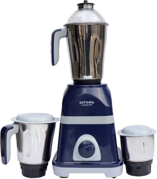 Kutchina MISI KARIZMA 750 Mixer Grinder (3 Jars, Blue & Grey)