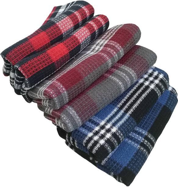 PADHUMAM 45cm x 70cm Multicolor 6pc Kitchen , Dining Towels, Table napkins Multicolor Napkins