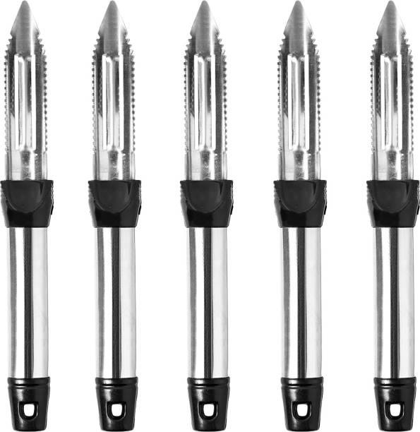 YAJNAS Stainless Steel Peeling Knife, Potato Peeler / Straight Peeler Straight Peeler Set