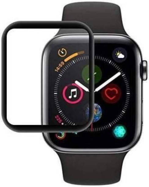 IM Retail Edge To Edge Tempered Glass for Apple Smart Watch Series 4 (40MM),Apple Smart Watch Series 5 (40MM) , Apple Smart Watch Series 6 (40MM).