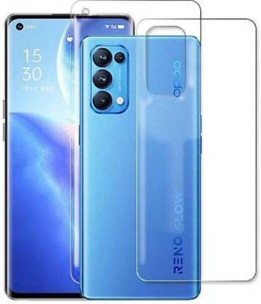 ARCZEN Front and Back Tempered Glass for OPPO RENO 5 PRO