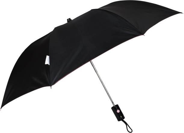 Fendo Jackson 2 Fold Maroon Metallic Umbrella Umbrella