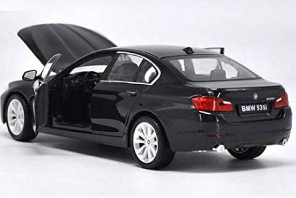 Galactic 1:32 Scale BMWW535i Diecast Alloy Metal Luxury Car Model Pull Back Car for Children Toys(5 Design Available 1 Design Sending)