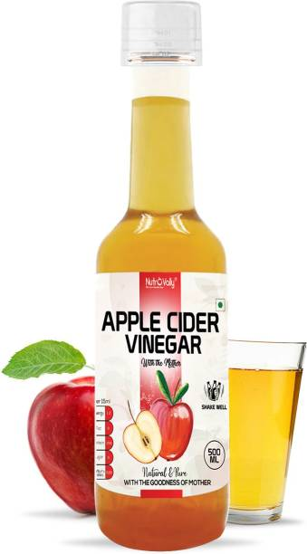 NutroVally Apple Cider Vinegar for Weight Loss With Strand of Mother Unfiltered And Undiluted Vinegar
