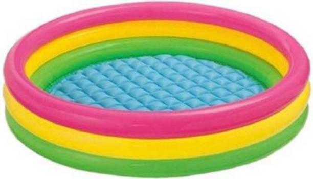 HREYANSH COLLECTION 3 Ft swimming pool Bath Toy (Multicolor) (Multicolor) Bath Toy