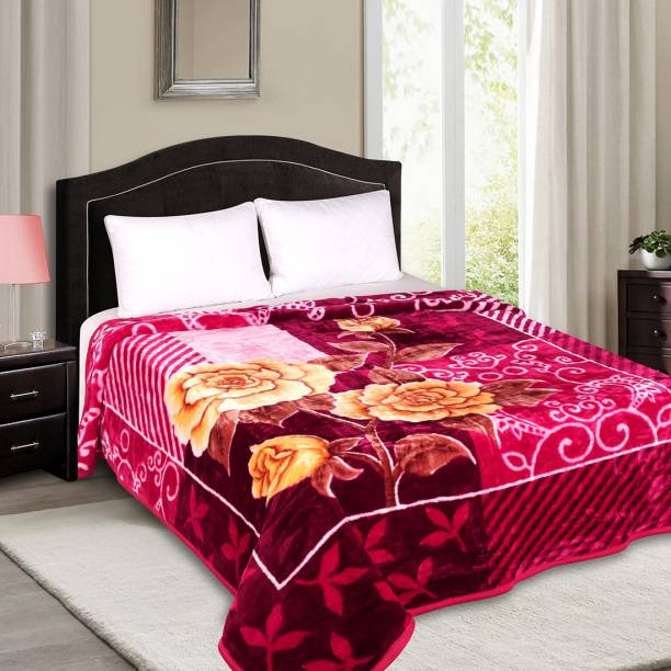 Signature Printed Double Mink Blanket