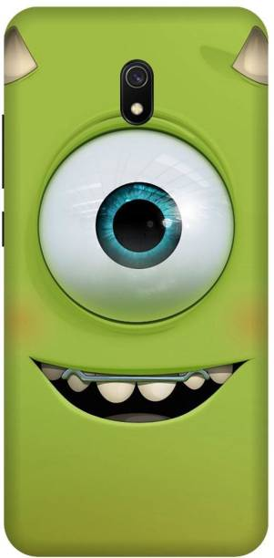 MD CASES ZONE Back Cover for Redmi 8A/MZB8298IN Teeth Single Eyes Funny Printed back cover