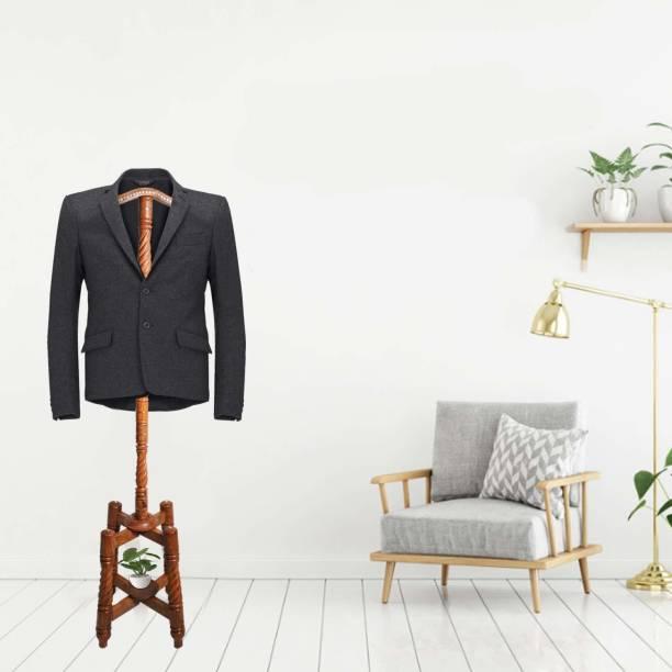 Naayaab Craft Engineered Wood Coat Stand