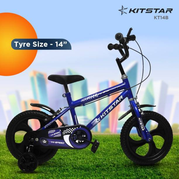 Kitstar KT14B Kids Cycle for 2 - 4 Years Semi Assembled 14 T BMX Cycle