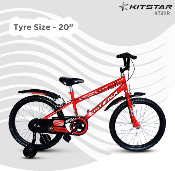 Kitstar KT20R Kids Cycle for 5 - 8 Years Semi Assembled 20 T BMX Cycle
