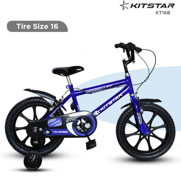 Kitstar KT16B Kids Cycle for 5 - 8 Years Semi Assembled 16 T BMX Cycle