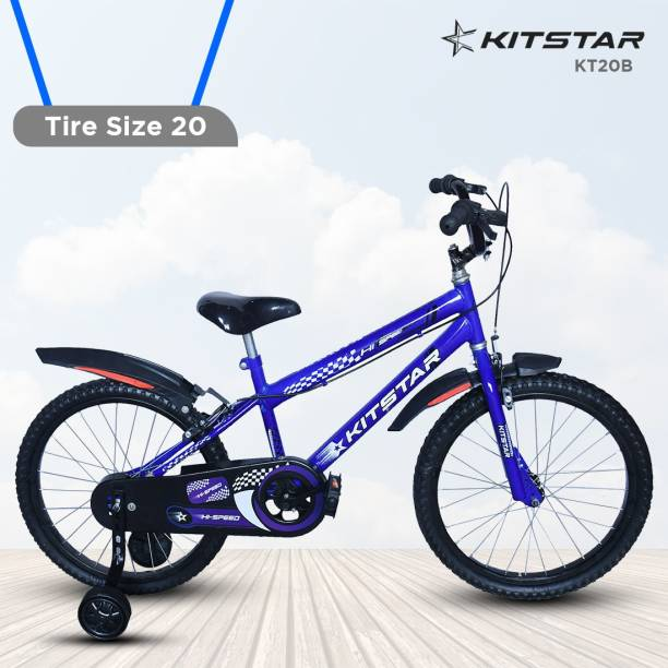 Kitstar KT20B Kids Cycle for 5 - 8 Years Semi Assembled 20 T BMX Cycle