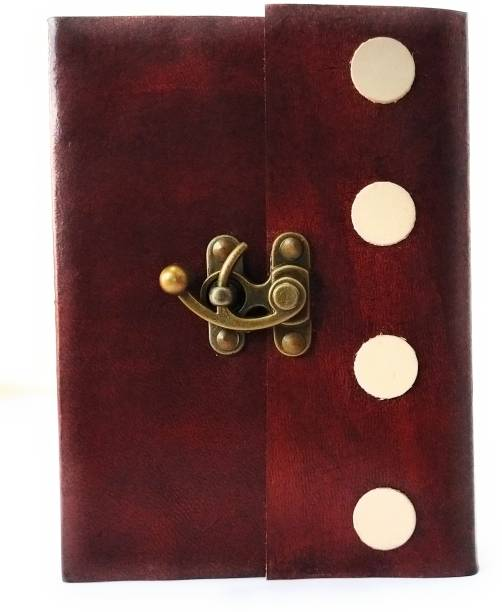 Coronal Leather Journals Regular Size Diary A5 Notebook Unruled 200 Pages