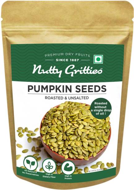 Nutty Gritties Roasted Pumpkin Seeds for Eating