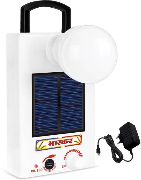 Eye Bhaskar 12 LED Solar Bulb With Charge Rechargeable Lantern Emergency Light