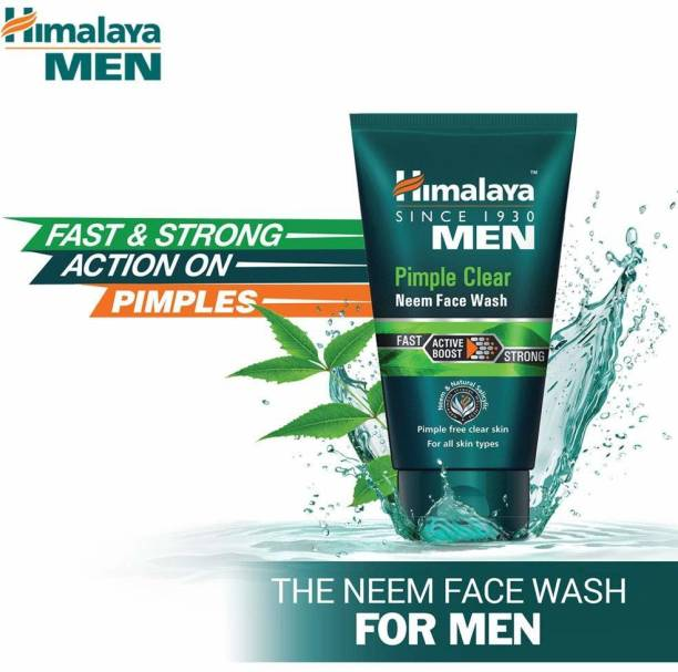 HIMALAYA Men Pimple Clear Neem  50ml Face Wash