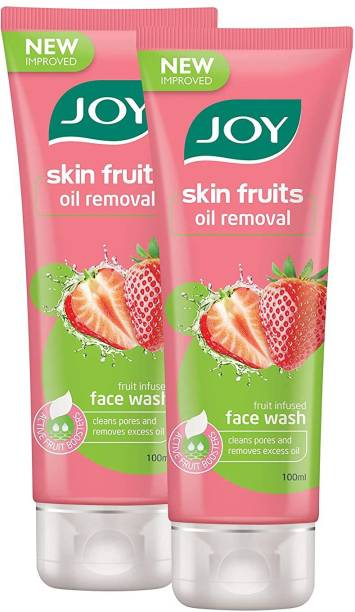 Joy Skin Fruits Oil Removal Strawberry Face Wash