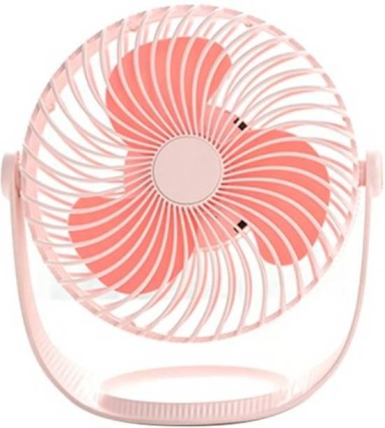 Bestor Portable Mini USB Cooling Fan F12 USB Fan Portable Mini USB Cooling Fan For Office Work / Home / For Ladoo Gopal USB Fan