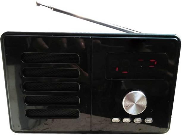 CRETO SN-665 Portable Digital Bluetooth Fm/Radio Supports USB, AUX & SD Card FM Radio