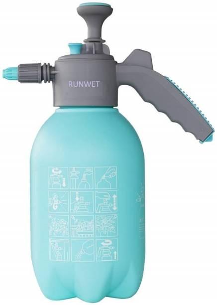 Runwet _Garden Sprayer | Pump Pressure | Lawn Sprinkler | Water Mister | Spray Bottle | Herbicides | Pesticides | Fertilizers | Plants| Flowers | 2.2 Liter Capacity | 2.2 L Hand Held Sprayer