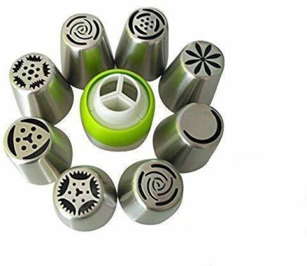 Perfect Pricee 8 Piece Nozzle Stainless Steel Quick Flower Icing Nozzle