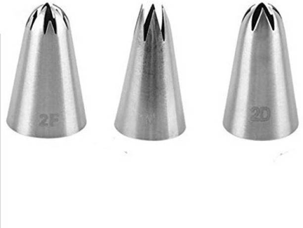 Perfect Pricee 3 Piece Nozzle Stainless Steel Quick Flower Icing Nozzle