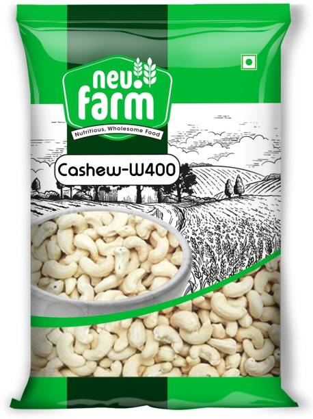 Neu.Farm Value - Cashew/Kaju - Whole W400 - Cashew Nuts - 1kg Cashews