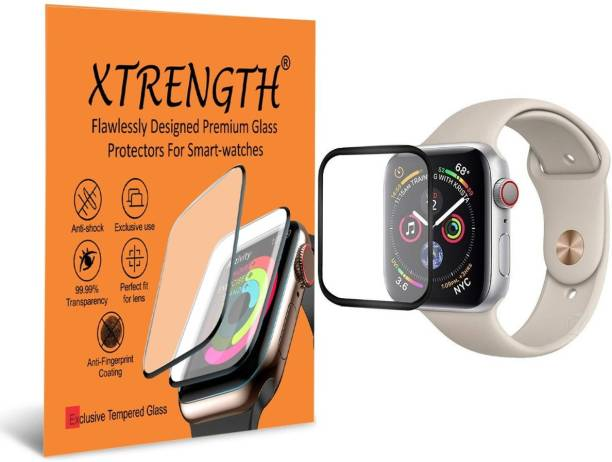 XTRENGTH Edge To Edge Tempered Glass for Apple Watch Series 6 40mm