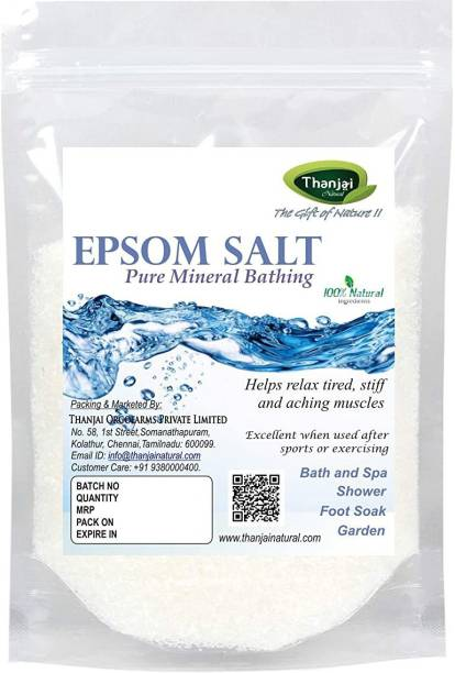 Thanjai Organic Epsom Salt Natural & Organic For Plant Growth|Plant Nutrient |Gardening Fertilizer