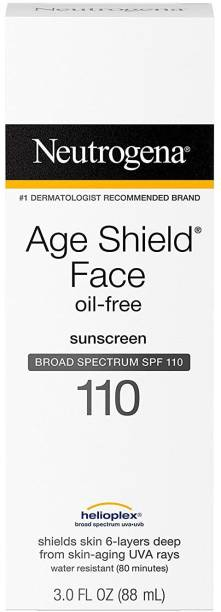 NEUTROGENA Age Shield Face Lotion SPF 110 - SPF 110