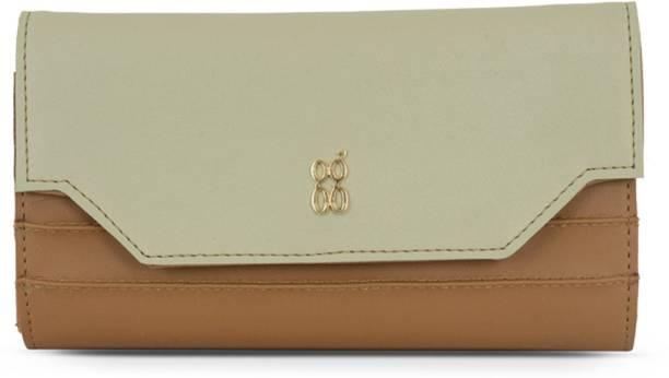 Baggit Women Brown Artificial Leather Wallet