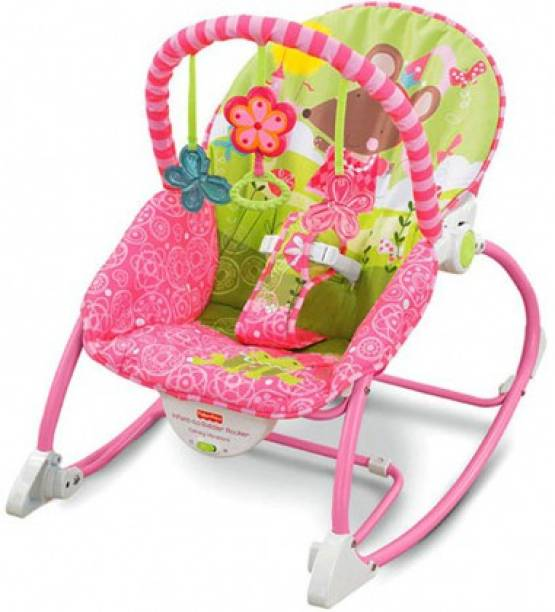 AVARIN Baby Rocker & Bouncer Foldable, Portable with Calming Vibrations & Toy Rocker and Bouncer