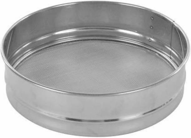 Infa Stainless Steel Atta Maida Sieve Strainer, Flour Sieve/Chalni Sieve