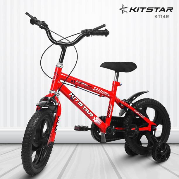 Kitstar KT14R Kids Cycle for 2 - 4 Years Semi Assembled 14 T BMX Cycle