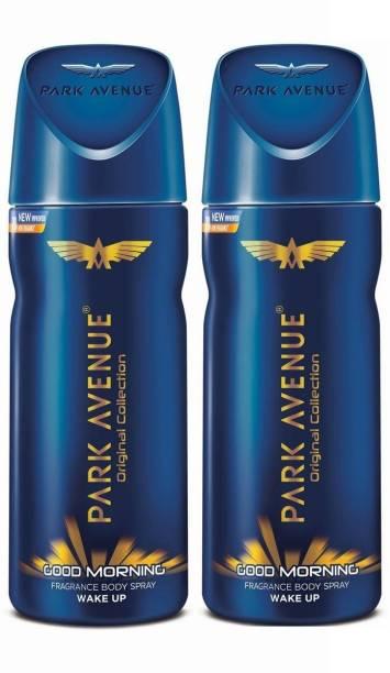 PARK AVENUE Men's Classic Deo Good Morning,100ml (Pack of 2) Deodorant Spray  -  For Men