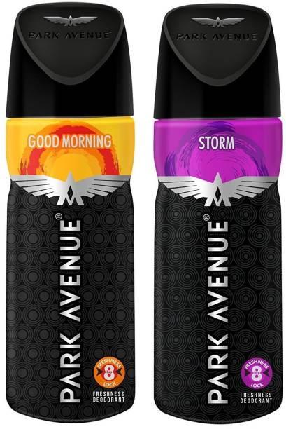 PARK AVENUE GOOD MORNING AND STROM Deodorant Spray  -  For Men