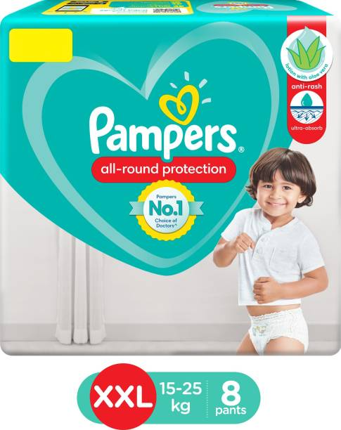 Pampers Diaper Pants Lotion with Aloe Vera - XXL