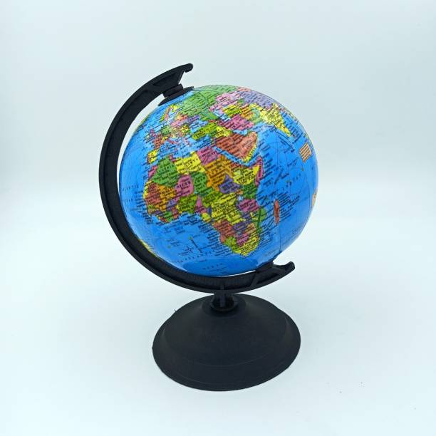 CRAFTWAFT WORLD POLITICAL GLOBE IN ENGLISH 12.5 CM AXIS DESK & TABLE TOP POLITICAL World Globe