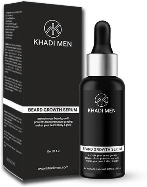 Khadi Men Beard Hair Growth Serum