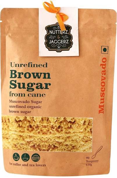 Nutterz & Jaggerz Muscovado Sugar Unrefined Organic Brown Sugar Sugar