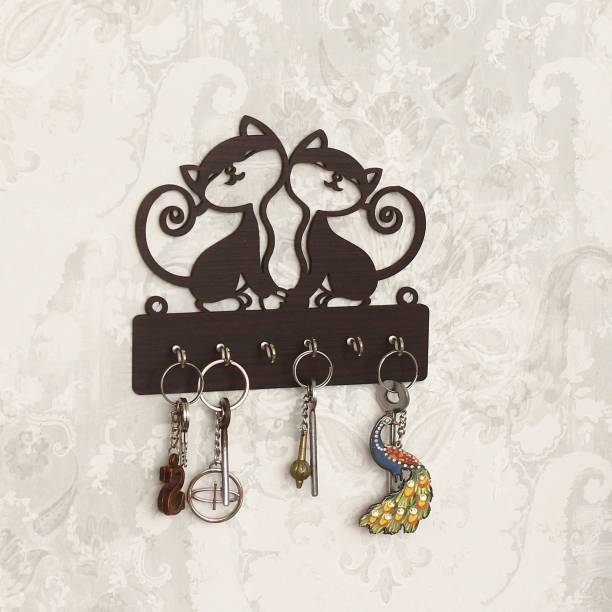 CAPIO ART CAT DESIGN Wood Key Holder