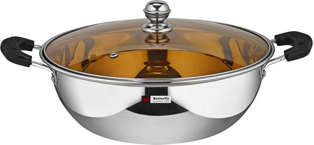 Butterfly Kadhai 26.5 cm diameter with Lid 3 L capacity